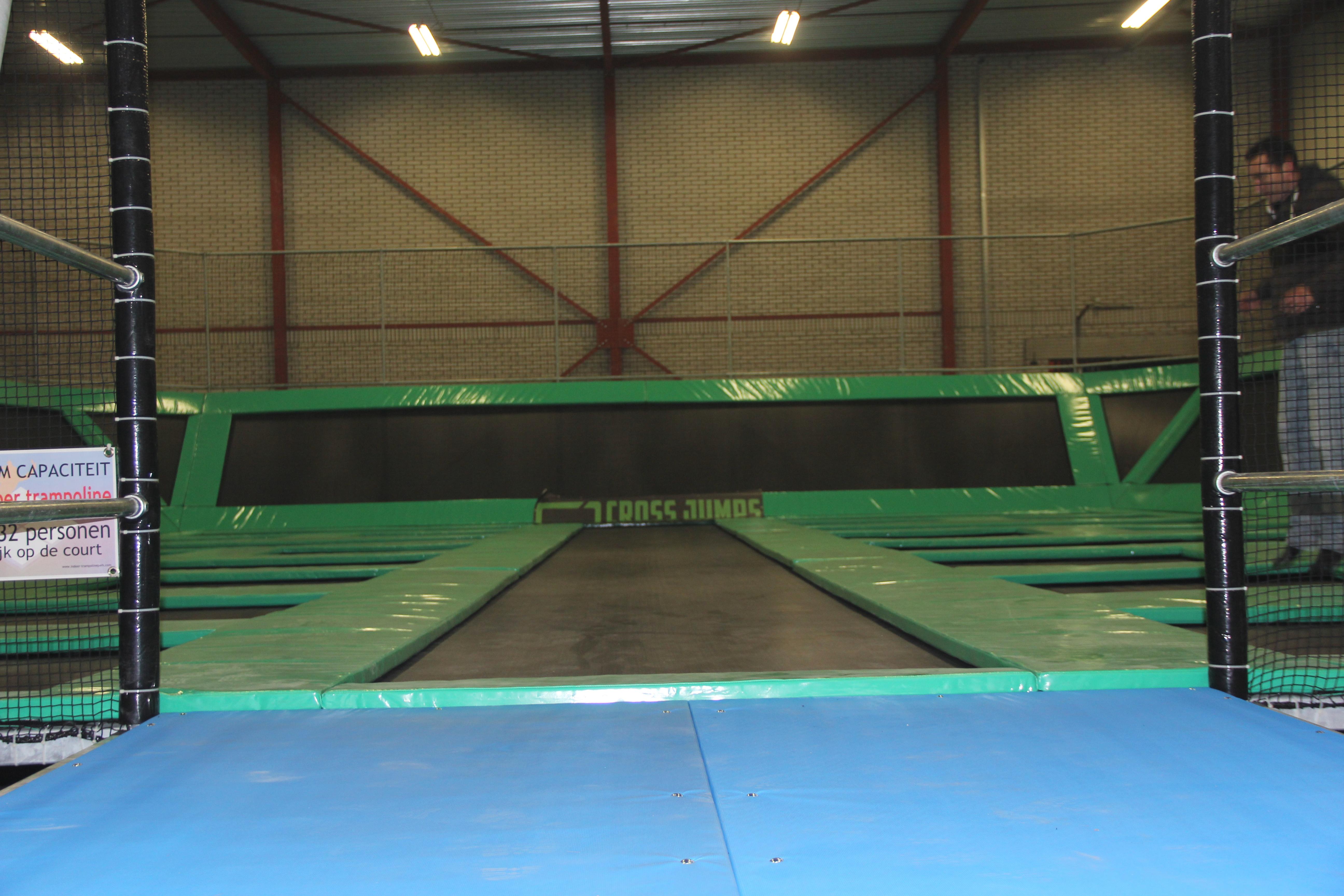 Indoor trampoline park breda 2014 again a hajump creation for Indoor trampoline park design manufacturing
